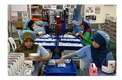 インドネシア共和国東ジャワ州スラバヤ市工場