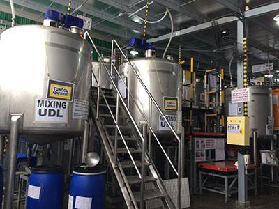 液体洗剤・調合タンク